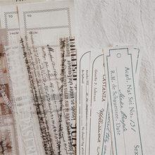 Notas Vintage Retro para decoración de notas en inglés, Material de papelería para álbum de recortes, proyectos de bricolaje, 150 Uds.