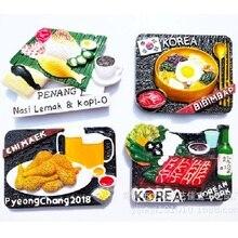 Magnet BIBIMBAP Refrigerator-Food Malaysia Personal KOREAN PORK Nasi Cuisine Chi-Maek