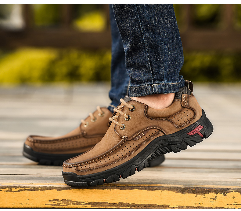 H1c6bc7715c844a5e9c0972eb2ac2d8e73 2019 New Men Shoes Genuine Leather Men Flats Loafers High Quality Outdoor Men Sneakers Male Casual Shoes Plus Size 48