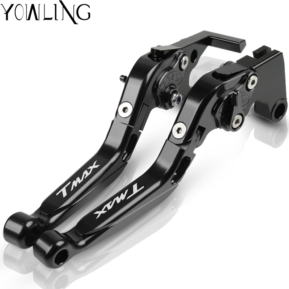 Motorcycle Accessories Handle Levers Brake Clutch Lever For YAMAHA <font><b>T</b></font>-<font><b>MAX</b></font> <font><b>T</b></font> <font><b>MAX</b></font> 500 <font><b>530</b></font> TMAX <font><b>530</b></font> 500 <font><b>T</b></font>-MAX530 2015 2016 2017 <font><b>2018</b></font> image