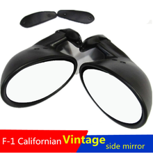 For Opel Manta 70 71 1972-75 GE / E Sporty Pair Door Mirror New matter Black LH RH Retro Answer