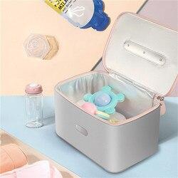 Portable UVC Deep Ultraviolet Sterilization Multifunctional Storage Bag for Household Travel Disinfection