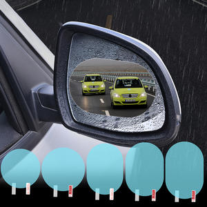 Protective-Film Membrane Car-Sticker Car-Rearview-Mirror Anti-Fog Waterproof 1pcs