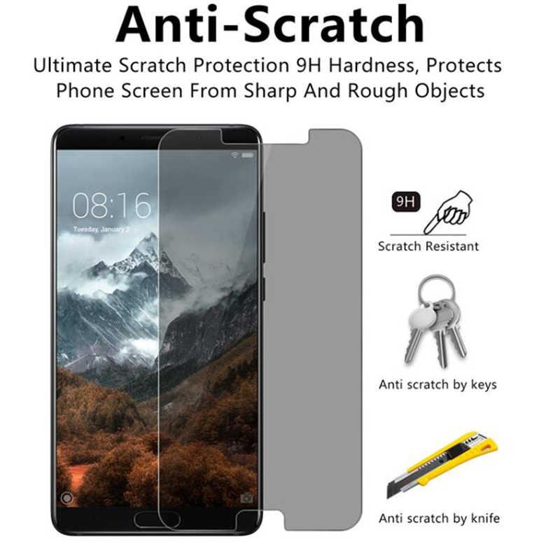 Kaca Pelindung untuk Huawei Kehormatan 8A Pro 7A 6A Pelindung Layar untuk Kehormatan 8X Anti Spy Tempered Glass untuk kehormatan 6C Pro 5C 4C