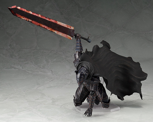 Figma 410 Black Swordman Berserk Action Figure Model Toys Doll For Gift 5