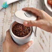 Портативная пшеничная соломенная чашка для завтрака напитков