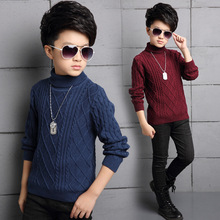 Christmas Sweater Kids Winter Warm Clothes 2019 Casual Turtleneck Knitted Sweaters for Boys Clothing Boys Cardigan Clothes cardigan for boys kotmarkot 15508 kid clothes