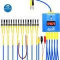 Mecânico iboot caixa para iphone android reparação dc cabo de alimentação do telefone móvel bateria boot reparação cabo