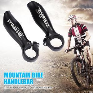 1 Pair Bicycle Aluminum Barend Bar MTB Bar End Mountain Bike Handlebar Cover Handle Cycling Accessories