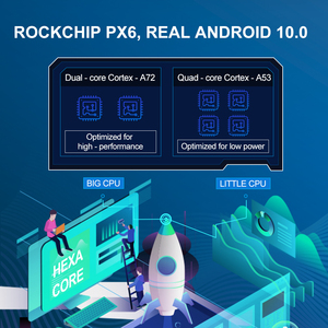 Image 2 - Isudar PX6 2 DIN Tự Động Phát Thanh Android 10 Dành Cho Xe Nissan/Xtrail/Tiida/Hyundai/KIA Đa Năng Trên Ô Tô đa phương tiện Video GPS USB RAM 4GB