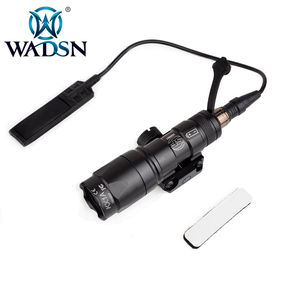 wadsn airsoft lanterna sf m300 m300b mini softair scout luz led 280 lumen tactical tochas de