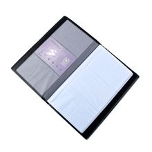 Storage-Box Postcard-Decoration Business-Card-Holder Photo-Album Scrapbooking Black