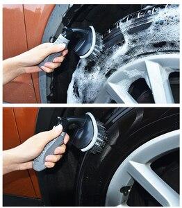 Image 2 - Dedykowane narzędzia do czyszczenia i szorowania opon do czyszczenia felgi gąbka do usuwania silnych zanieczyszczeń i ochrony opon niezbędne narzędzie
