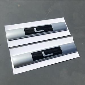 Image 3 - L SDV8 SCV6 Emblem Letter Bar For Range Rover VOGUE VOGUESE Extended Executive Edition Car Side edge Badge Trunk Styling Sticker
