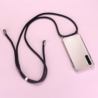 Funda de teléfono de silicona con cordón de lujo para Realme, 8, 7, 6, 5, 5i, 3, 2, X50, XT, X2, X Lite Pro, C11, C3, C2, ultrafina