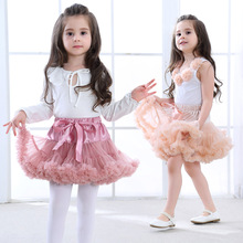 цены на New Baby Girls Tutu Skirt Ballerina Pettiskirt Fluffy Children Ballet Skirts For Party Dance Princess Girl Tulle Clothes  в интернет-магазинах