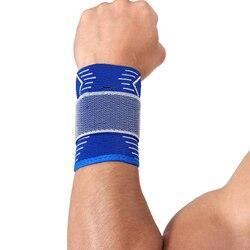 Elastic Wrist Pad Protection Wrist Wraps Carpal Tunnel Tennis Wrist Strap Brace Support 1 Piece