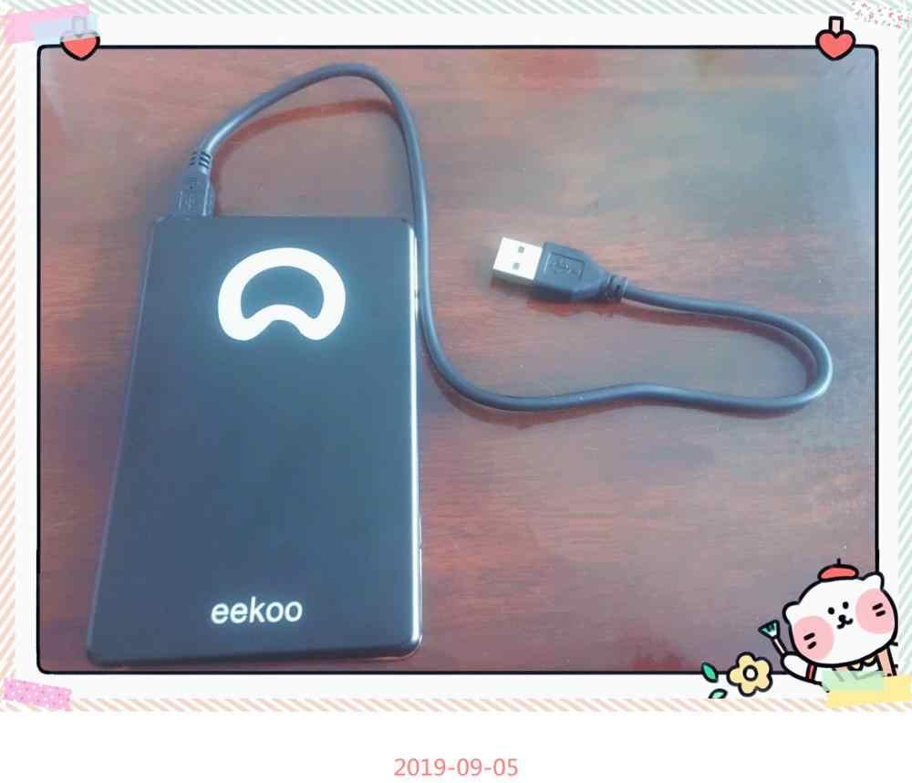 Eekoo HDD 2TB Logam USB 2.0 Laptop Hard Drive Eksternal Hard Drive 2000G Pemantauan Externo Penyimpanan gratis Pengiriman