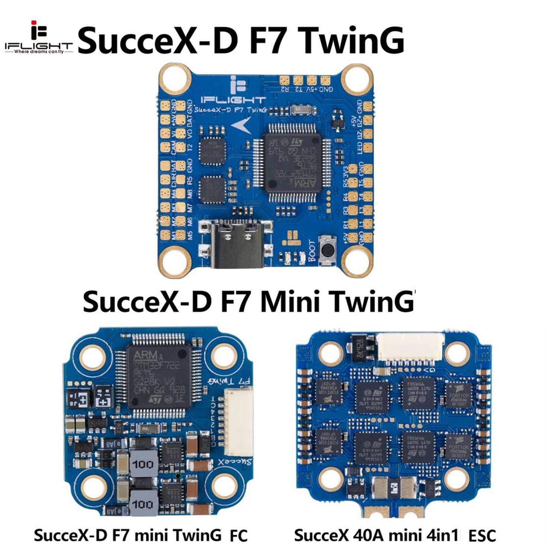 IFlight sucex D F7 mini TwinG Flight control FC 40A 50A 60A ESC стек DJI air unit RC FPV racing drone quadrotor|Детали и аксессуары|   | АлиЭкспресс
