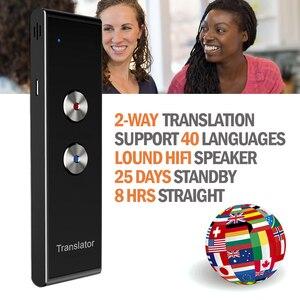 Image 1 - แบบพกพาภาษา Voice Translator, T8 Real Time ทันที 2 Way 40 ภาษาคำสำหรับ Travel การเรียนรู้