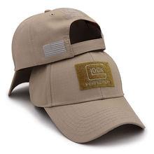 Вышивка тактическая glock спортивная бейсбольная кепка tiro
