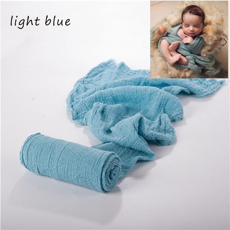 adereços cobertor macio elástico algodão cobertor fotografia bebês acessórios