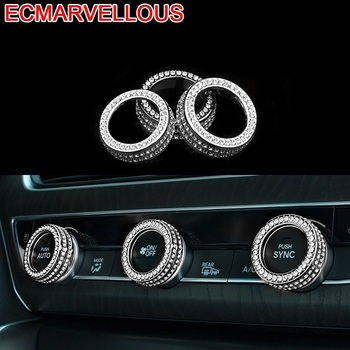 Auto Control System Gear Steering Wheel Air Conditioner Automobile Decorative Car Styling Bright Sequins 18 19 FOR Honda Accord