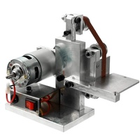 Mini DIY Electric Belt Grinder Sander Polishing Grinding Machine Edge Sharpener Metal Wood Sanding Machines EU/US/UK/AU PLUG