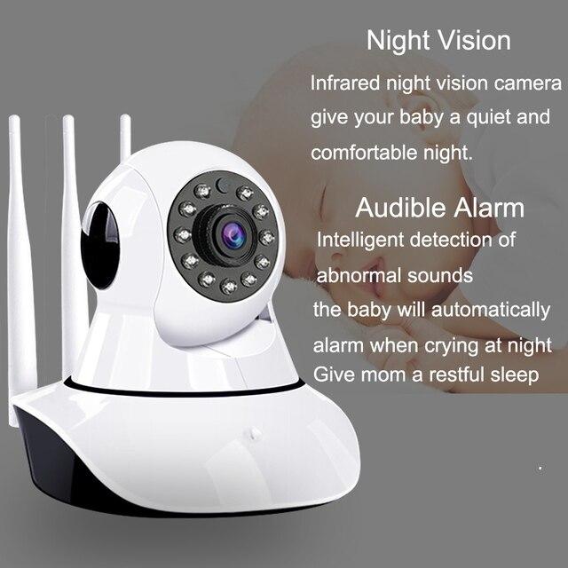 Caméra intelligente WiFi 3 1080P IP   Caméra de Surveillance à Vision nocturne IR, sécurité à domicile, moniteur bébé sans fil