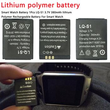 380mAh akumulator litowo-polimerowy akumulator li-po DZ09 QW09 A1 W8 litowo-jonowy akumulator litowo-polimerowy inteligentna bateria zegarka uniwersalny tanie i dobre opinie Etmakit LQ-S1 Li-ion NONE 700 mAh CN (pochodzenie) Tylko baterie