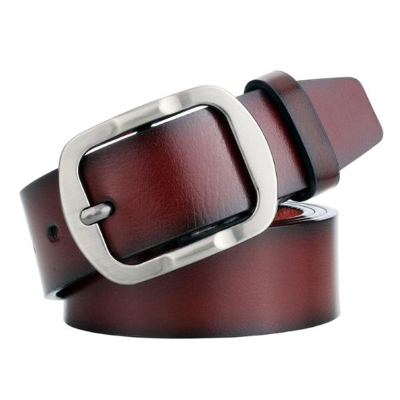 High Quality Men s Faux Leather Casual Belt Men Vintage Design Pin Buckle PU Leather Belts