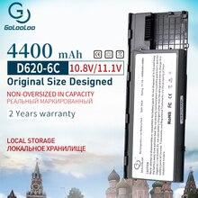 4400 мАч 6 ячеек ноутбук Батарея для Dell Latitude D620 D630 D631 KD491 KD492 KD494 KD495 PC764 PC765 PD685 RD300 TC030