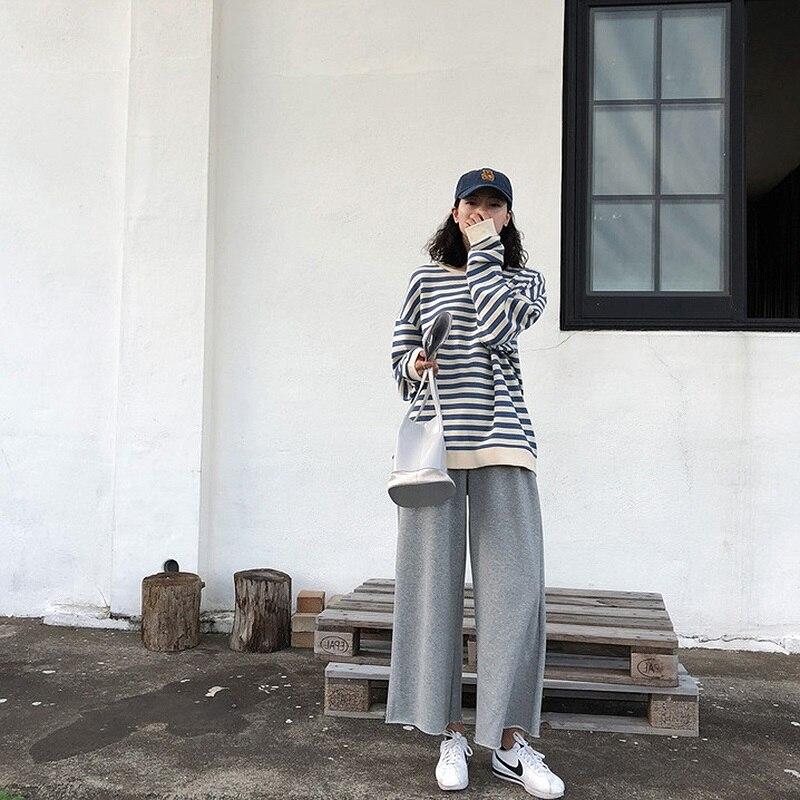 Sweat à capuche en coton à rayures gothiques pour femme, vêtement à manches longues, ample, Kawaii, coréen, fin, Harajuku, automne 2021 2