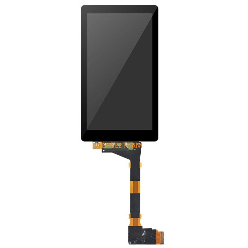 Wisecoco 5.5 pouces 2k IPS Photon 3D imprimante écran LCD LS055R1SX03 verre trempé protecteur pour Wanhao D7 KLD 1260 panneau d'affichage