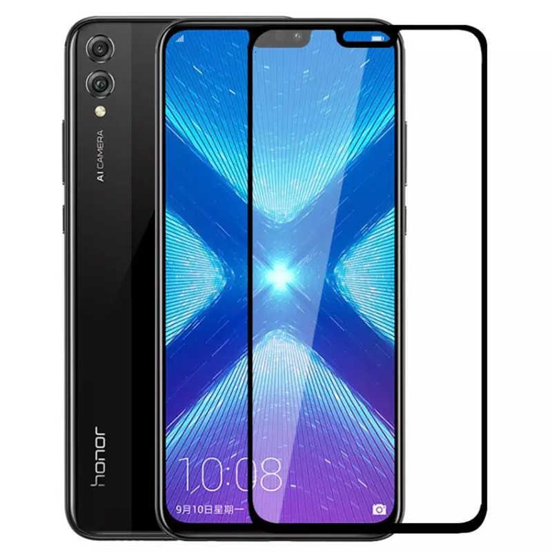 Полный Чехол для huawei Honor 8x Max, закаленное стекло, защита экрана, Защитная пленка для Honer 8x8X8x8 8xmax Honor8x