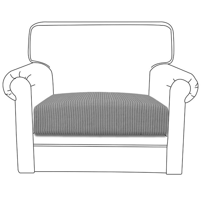 1 2 3 4 Seat Sofa Cushion Cover Chair Cover Pet Kids Furniture Protector Polar Fleece