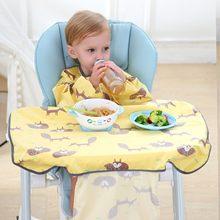 Bibs de Alimentação do bebê Da Menina do Menino À Prova D' Água Avental Dos Desenhos Animados Toalha Crianças Criança Jantar Baberos Bandanas Burp Cloths Слюнявчики Для Детей