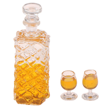 Toys Scale-Models Dollhouse Miniature Wine-Bottles Baby Kids 1:12-Scale for DIY Classic