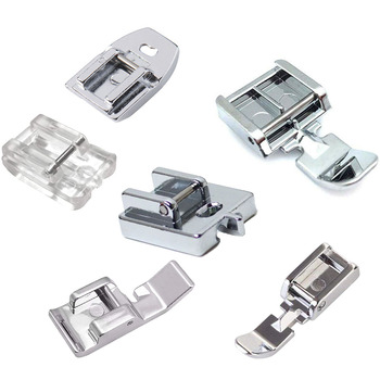 1 PCS Household Sewing Machine Parts Presser Foot Invisible Zipper Foot Plastic for singer brother white janome juki toyota7306A image