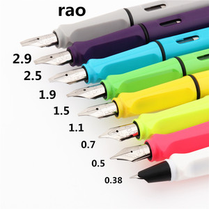 Luxury quality 280 Fashion color Various nibs Fountain Pen Financial office Student School Stationery Supplies ink pens