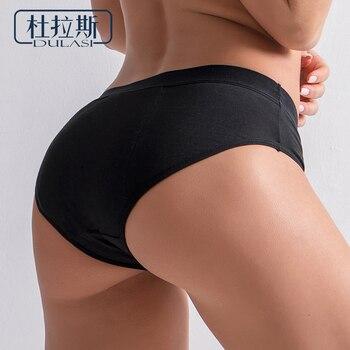 4 layer Menstrual Period Panties Sexy Bamboo Super Absorption Leakproof Incontinence Underwear Waterproof Lingerie DULASI Undies 2