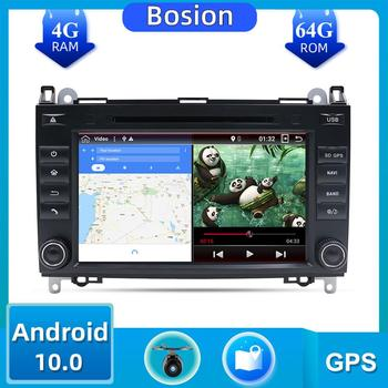 DSP para Mercedes Benz Sprinter B200 Vito Viano W209 W169 W169 Clase B W245 B170 W639 2 din Android 10,0 coche DVD GPS 4G 6G HDMI