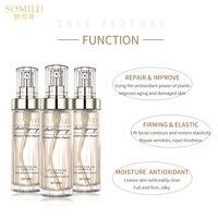 SOMILD Luxury Korean Cosmetics Snowy White Face Serum Whitening Women Firming Emulsion Plant Essence Skin Care Wrinkle Cream 2