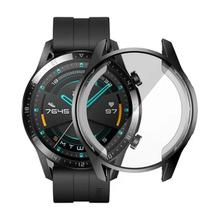 Fashion Protective Case For Huawei Watch GT 2 46mm Soft Tpu Full Screen Protection Shell Watch Protector Cover Accessories