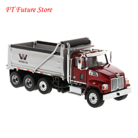 Collectible In Stock 1/50 Scale Alloy Western Star 4700 SF Dump Truck 71032 Diecast Truck Car Model Toy for Fans Gifts