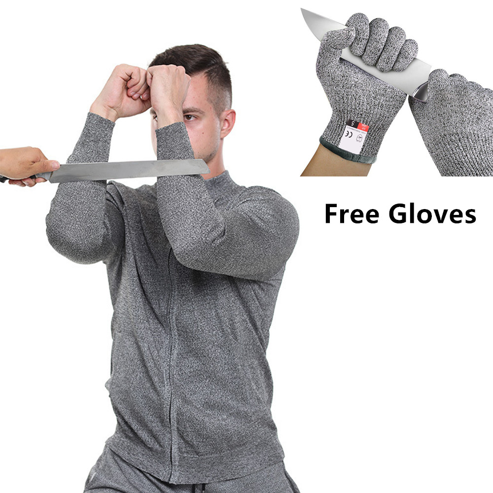 Self Defense Anti Cut Jacket Security Clothing Stab Proof Clothing Special Clothes Civil Protection Swat Police Workwear