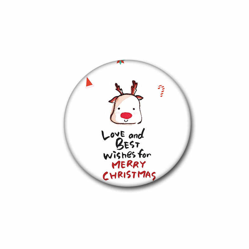 Merry คริสต์มาส Brooches Santa Elk Cat PIN ของขวัญใหม่ปี Badge สำหรับผู้หญิงผู้ชายงานฝีมือ DIY PARTY Decor กระเป๋าเป้สะพายหลังไอคอนสำหรับเด็ก