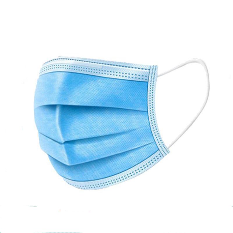 Image 2 - DHL free Disposable 3layers Mask face Prevent Antis  Dust Formaldehy de Bacteria Proof  Face Mouth MaskMasks