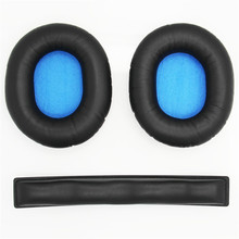 Fit perfectly Ear Pads For Sennheiser HD8 HD 8 DJ HD6 MIX Headphones Replacement Soft Memory Foam Cushion Ear Pads 23 SepO2