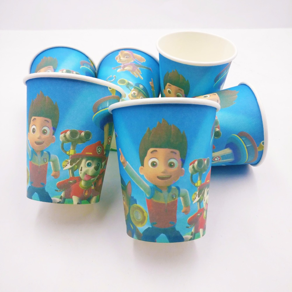 PAW PATROL GIRLS Plates Cups Napkins Tableware BIRTHDAY PARTY KITS 8-40 Guests